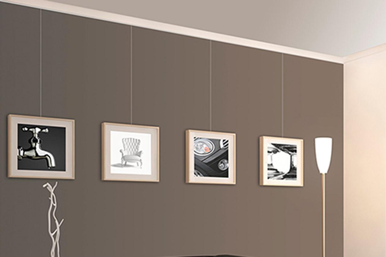 bilderschiene prorail crown 300 cm g nstig online kaufen. Black Bedroom Furniture Sets. Home Design Ideas