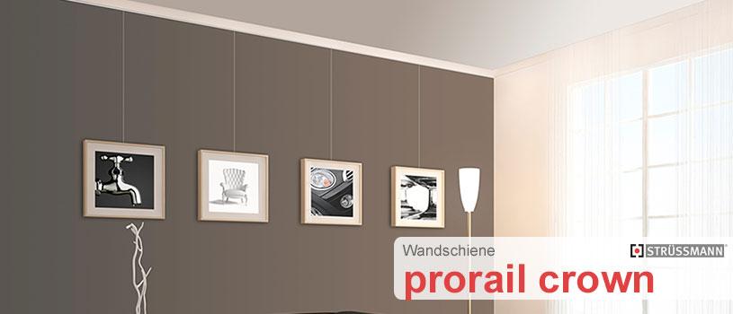 bilderschiene prorail crown g nstig kaufen schienen zubeh r shop. Black Bedroom Furniture Sets. Home Design Ideas