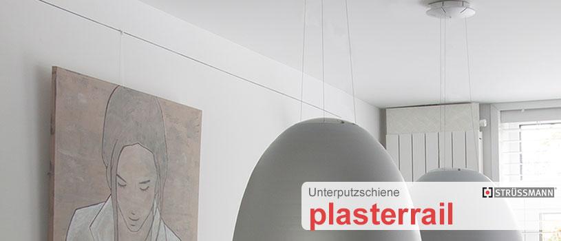 unterputzschiene g nstig kaufen plasterrail mit einputzschiene. Black Bedroom Furniture Sets. Home Design Ideas