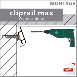 montage cliprail max