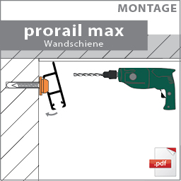 montage prorail max