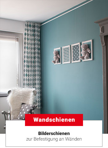 bilderschienen g nstig kaufen bilderschienensystem online shop. Black Bedroom Furniture Sets. Home Design Ideas