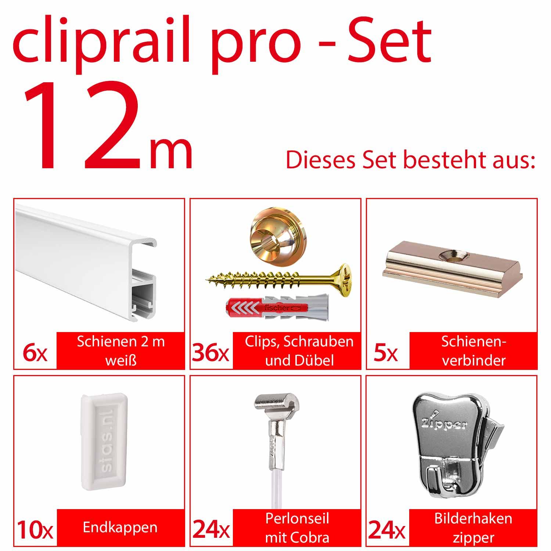 cliprail pro komplett set